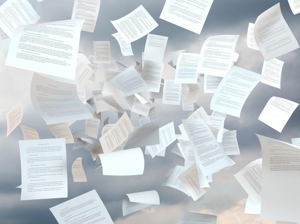 Niszczenie dokumentacji niejawnej